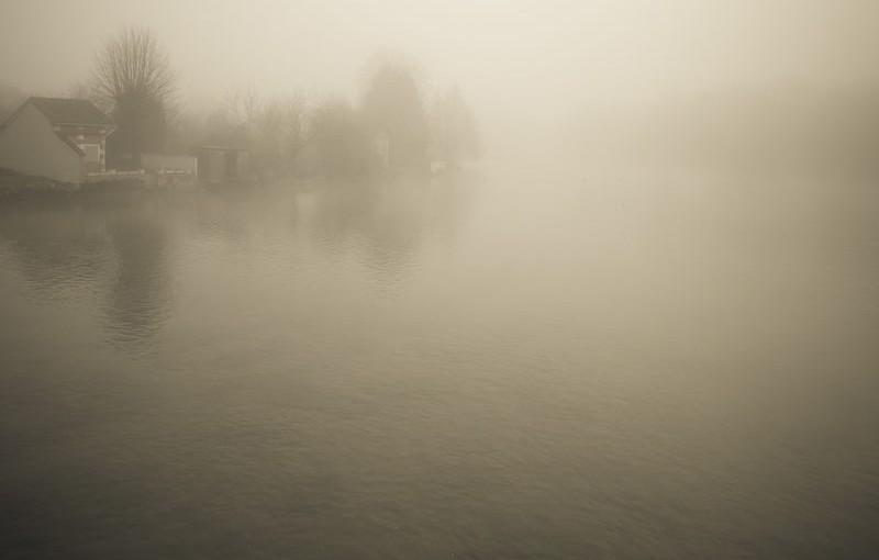 Brouillard sur la Touvre