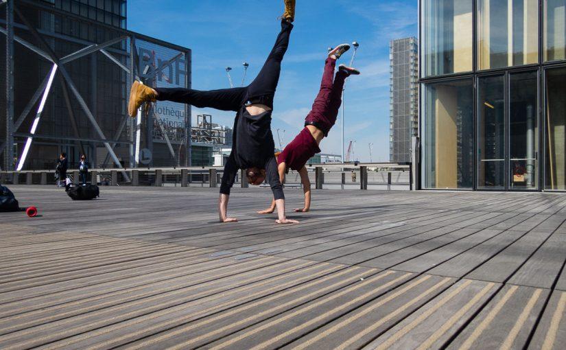 Street dance à la BNF
