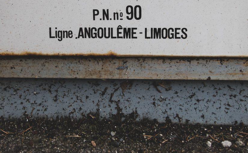 La ligne SNCF Limoges Angoulême